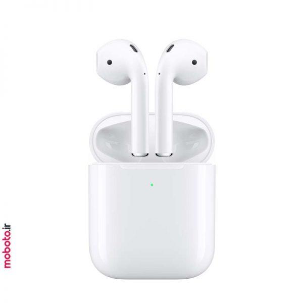 Apple airpods2 Wireless Charging Case pic1 هندزفری بیسیم اپل ایرپاد نسل دوم Apple AirPods 2 Wireless Charging Case