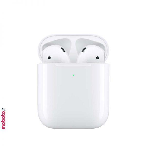 Apple airpods2 Wireless Charging Case pic3 هندزفری بیسیم اپل ایرپاد نسل دوم Apple AirPods 2 Wireless Charging Case