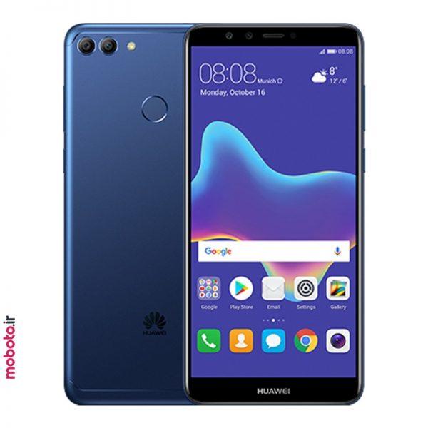 huawei y9 2018 blue موبایل هواوی Y9 2018 32GB