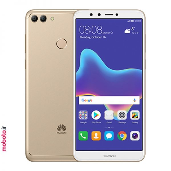 huawei y9 2018 gold موبایل هواوی Y9 2018 32GB