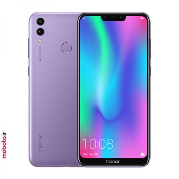 Honor 8C BKK LX2 purple موبایل آنر Honor 8C 32GB