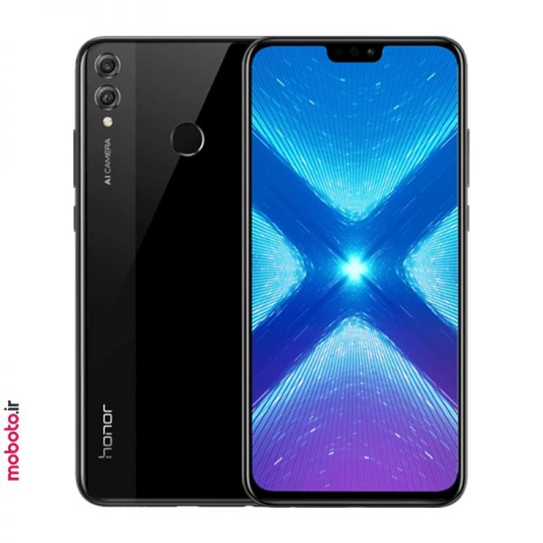 Honor 8X JSN L22 black موبایل آنر Honor 8X 64GB