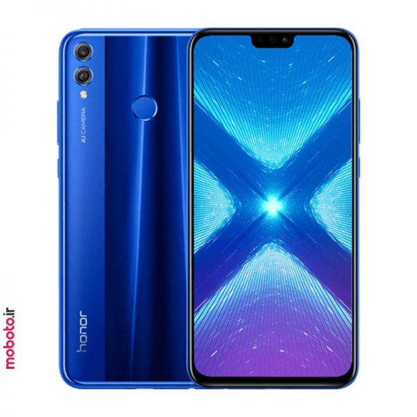 Honor 8X JSN L22 blue موبایل آنر Honor 8X 64GB