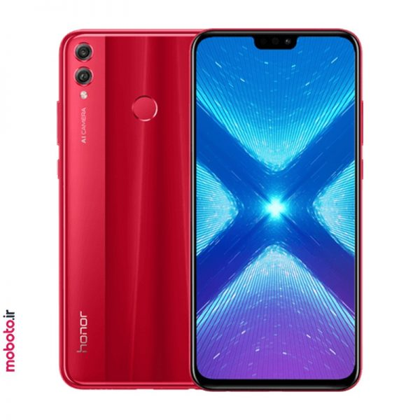 Honor 8X JSN L22 red موبایل آنر Honor 8X 64GB