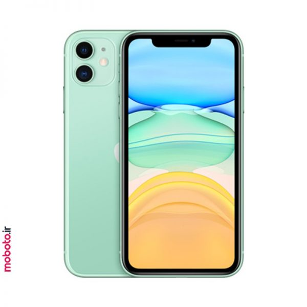 iphone 11 green1 موبایل اپل iPhone 11 256GB