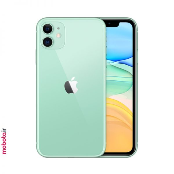 iphone 11 green2 موبایل اپل iPhone 11 256GB