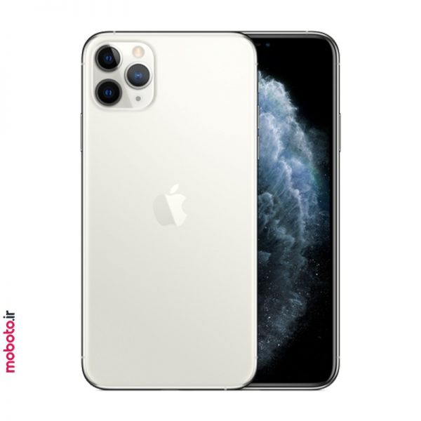 iphone 11 pro max silver موبایل اپل iPhone 11 Pro Max 256GB