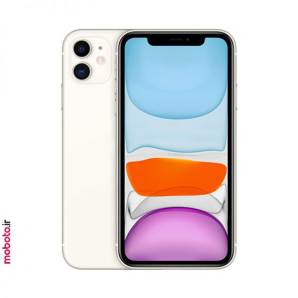 iphone 11 white1 موبایل اپل iPhone 11 256GB
