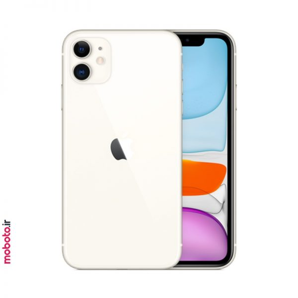 iphone 11 white2 موبایل اپل iPhone 11 256GB