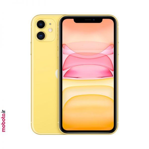 iphone 11 yellow1 موبایل اپل iPhone 11 256GB