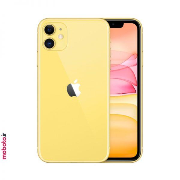 iphone 11 yellow2 موبایل اپل iPhone 11 256GB