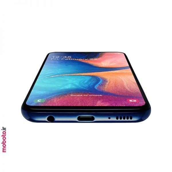 samsung galaxy a20e a202fds blue5 موبایل سامسونگ Galaxy A20e 32GB