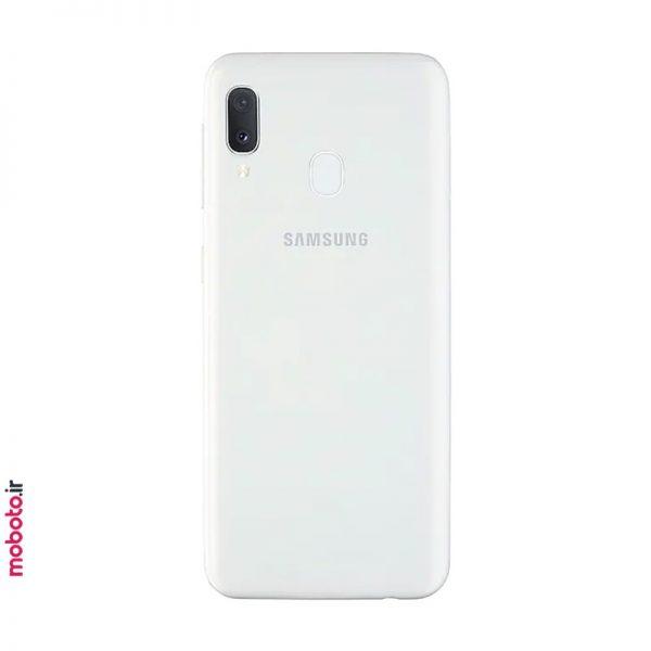samsung galaxy a20e a202fds white2 موبایل سامسونگ Galaxy A20e 32GB