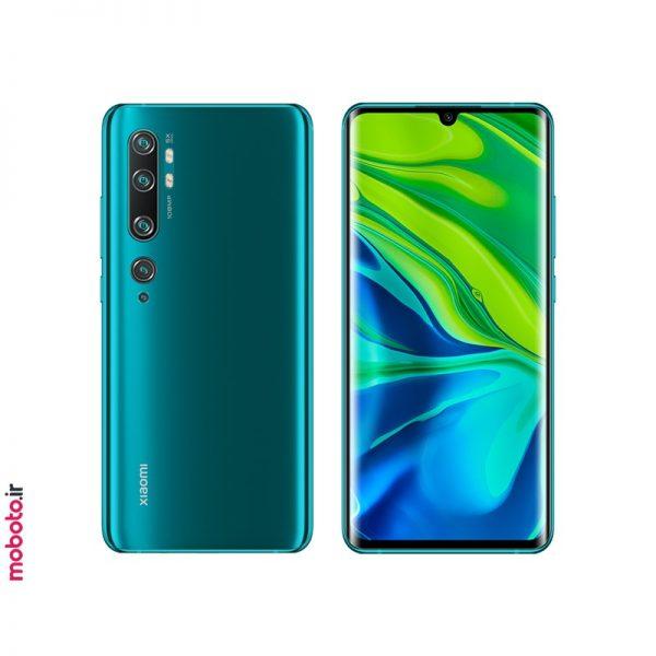 xiaomi mi note 10 green موبایل شیائومی Mi Note 10 Pro 256GB