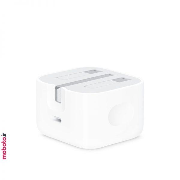 apple adapter 20w usbc 3 آداپتور شارژر اپل 20 واتی USB-C