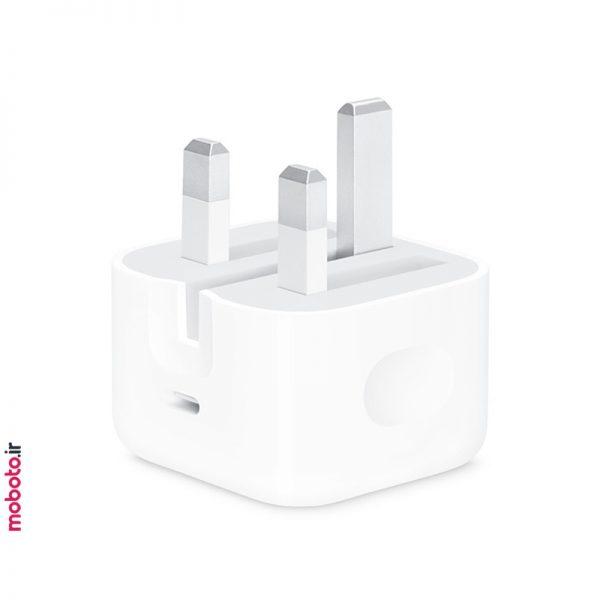apple adapter 20w usbc آداپتور شارژر اپل 20 واتی USB-C
