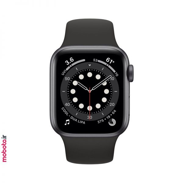 apple watch s6 gray ساعت هوشمند اپل Apple Watch Series 6 40mm