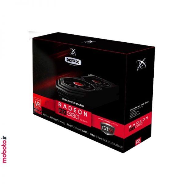 XFXAMDRadeonRX580 کارت گرافیک XFX AMD Radeon RX 580 GTS 8GB