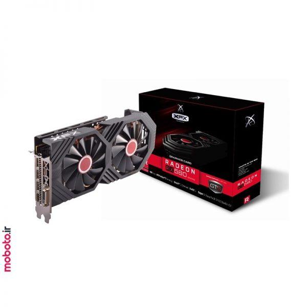 XFXAMDRadeonRX580 pic2 کارت گرافیک XFX AMD Radeon RX 580 GTS 8GB