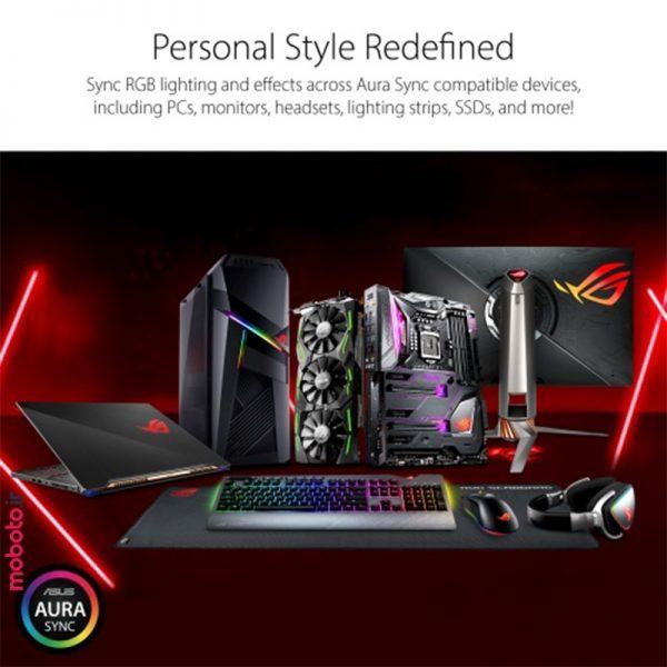 asus rog strix amd radeon rx 5700xt 8g gaming graphics card8 کارت گرافیک ایسوس ASUS ROG Strix AMD Radeon RX 5700XT 8G