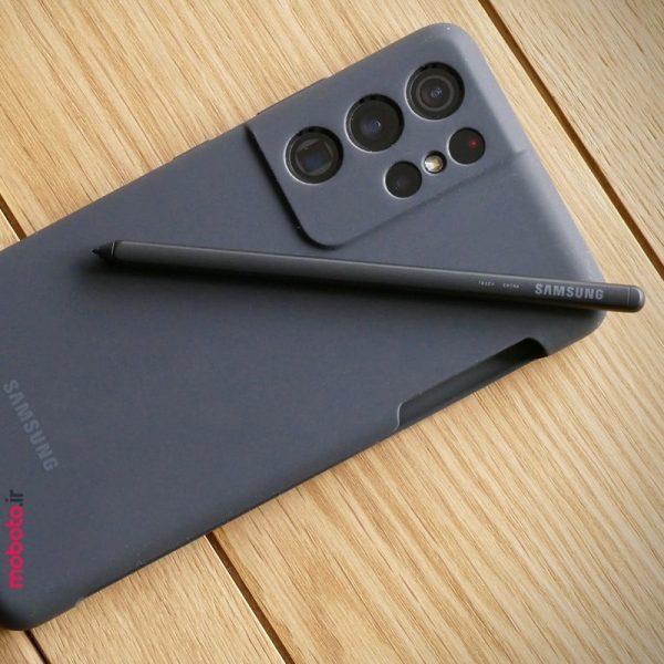 cover s pen s21ultra pic3 کاور سیلیکونی سامسونگ بههمراه قلم S Pen مناسب گلکسی S21 Ultra 5G