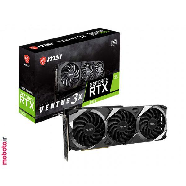 GeForce RTX 3070 VENTUS 3X pic2 1 کارت گرافیک MSI GeForce RTX 3070 VENTUS 3X OC