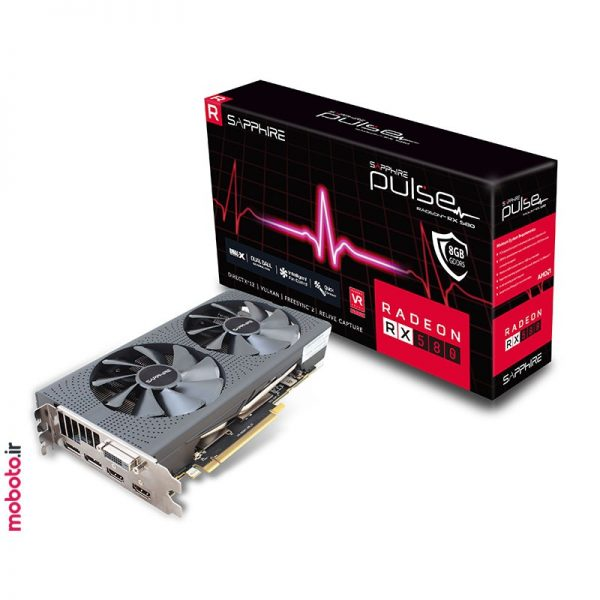 SAPPHIRE PULSE RX 580 8G G5 pic2 کارت گرافیک SAPPHIRE PULSE RX 580 8G G5