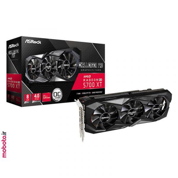 asrock amd radeon rx 5700 xt challenger pro 8g oc pic2 کارت گرافیک ASRock AMD Radeon RX 5700 XT Challenger Pro 8G OC