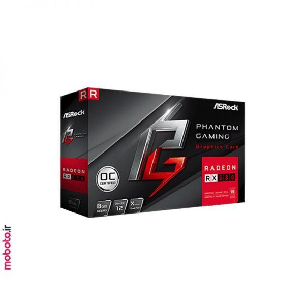 asrock phantom gaming x radeon rx580 8g oc کارت گرافیک ASRock Phantom Gaming X Radeon RX580 8G OC